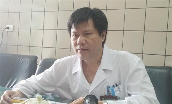 BS Nguyễn Hữu Dũng chia sẻ về ca bệnh đặc biệt. Ảnh: T.Hạnh