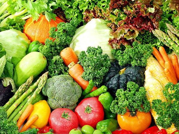 Những loại rau có màu xanh đậm thường chứa nhiều axit folic
