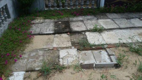 Những xác thai nhi được bà Lành nhặt về khâm liệm và chôn cất tử tế tại nghĩa trang
