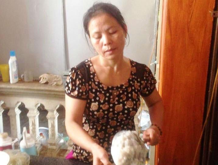 Bà Trần Thị Lành.