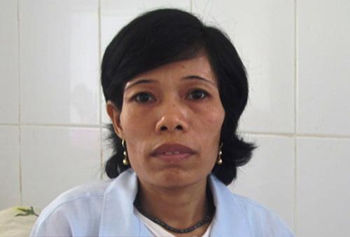 Khi mang thai, chị đã bị gia đình 5 lần bắt bỏ.