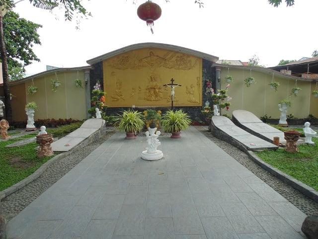 Khuôn viên nghĩa trang đồng nhi giữa lòng TP Biên Hòa