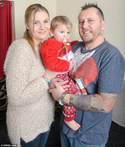 Cả gia đình đã đón một Giáng sinh hạnh phúc và ấm áp. (Ảnh: Daily Mail)