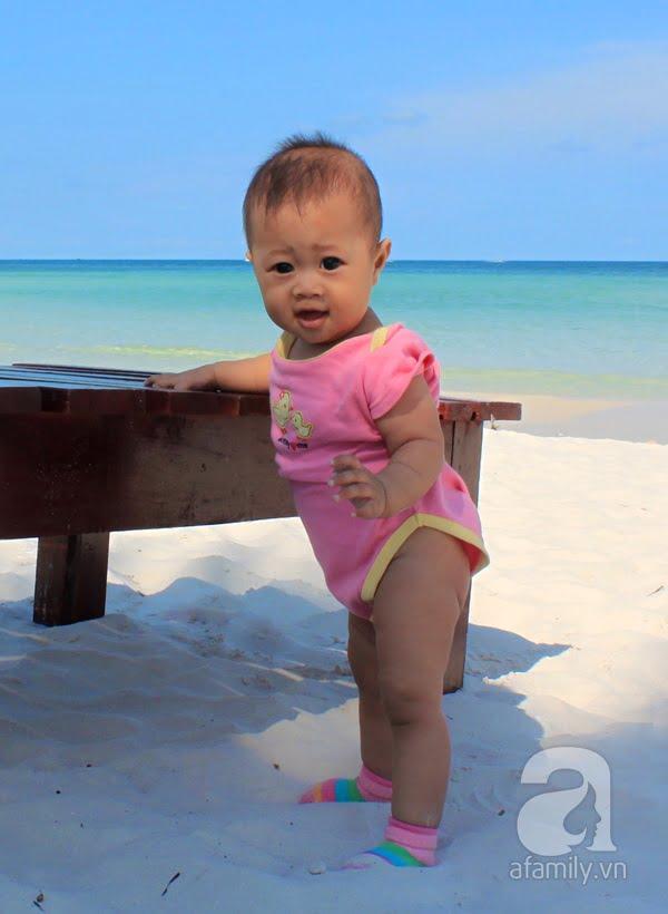 Belle 7 tháng tuổi