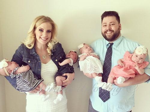 Gia đình nhỏ luôn tràn ngập tiếng cười từ khi Ashley Gardner biết tin có thai.