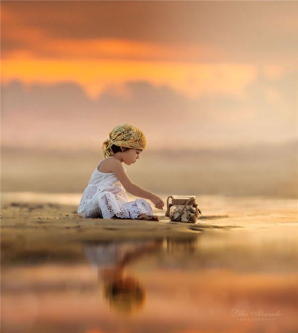 Mẹ của hai thiên thần nhỏ cho rằng nhiếp ảnh không chỉ là ghi lại khoảnh khắc, mà còn là thứ để khơi nguồn sáng tạo và cảm hứng cho con người, mang lại niềm vui và lẽ sống. (Ảnh: Lilia Alvarado)