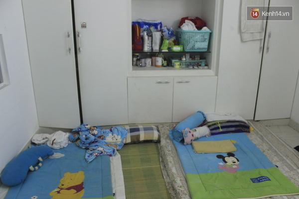 Phòng ngủ của các bà mẹ trẻ.