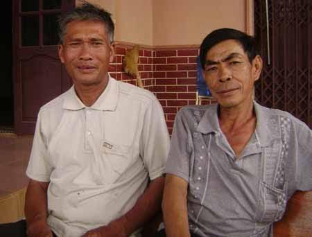 Hai người đàn ông âm thầm làm công tác thiện nguyện