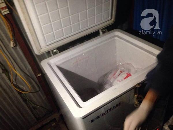 Tất cả các thai nhi thu lượm sau mỗi ngày được bảo quản trong tủ lạnh chờ nghi thức chôn tập thể