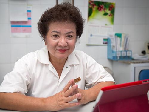 Bác sĩ Lê Thị Kim Dung