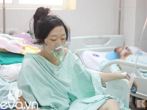 Khi mang bầu ở tháng thứ 5 thai kỳ, Huyền Trâm phát hiện mình bị mắc bệnh ung thư phổi giai đoạn cuối.